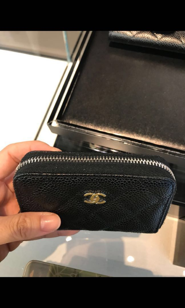 79575727304c Chanel coin purse SHW, Luxury, Bags & Wallets, Wallets on Carousell