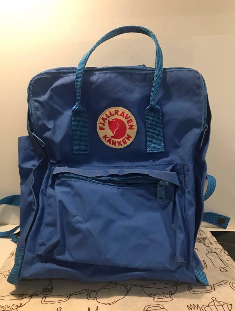 1830a5f75 Fjallraven Kanken Bag - Blue, Women's Fashion, Bags & Wallets ...