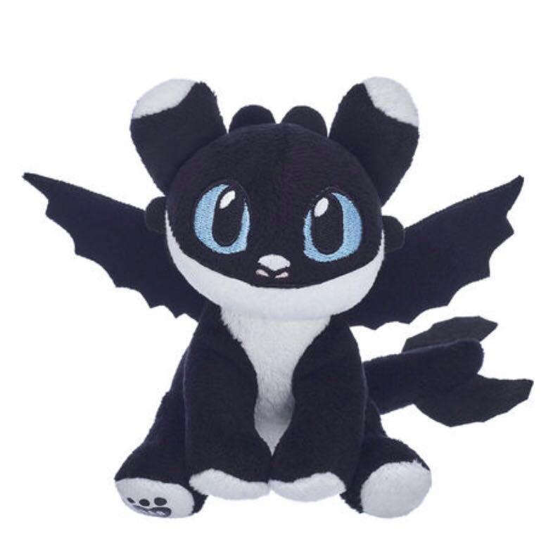 (For Sale Only) BNWT baby black & white nightlight with blue eyes - BAB