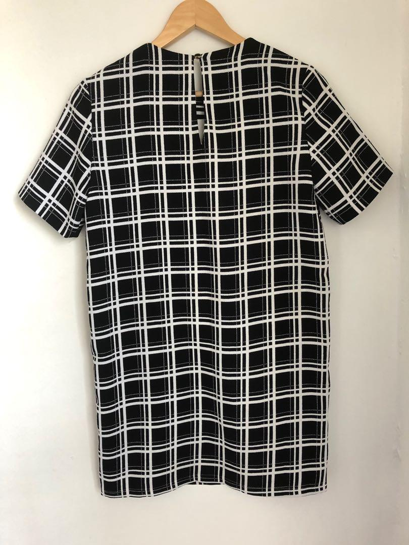 Forcast size 6 shirt dress corporate casual
