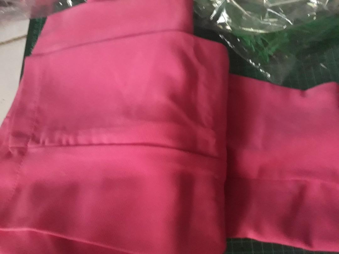 Gamis burkat tebal,atasan+celana panjang