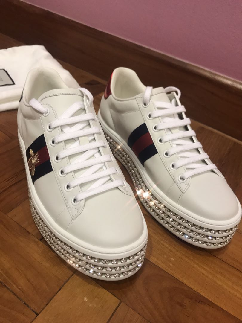 9fb8b0a0068 Gucci Diamond Platform Sneakers