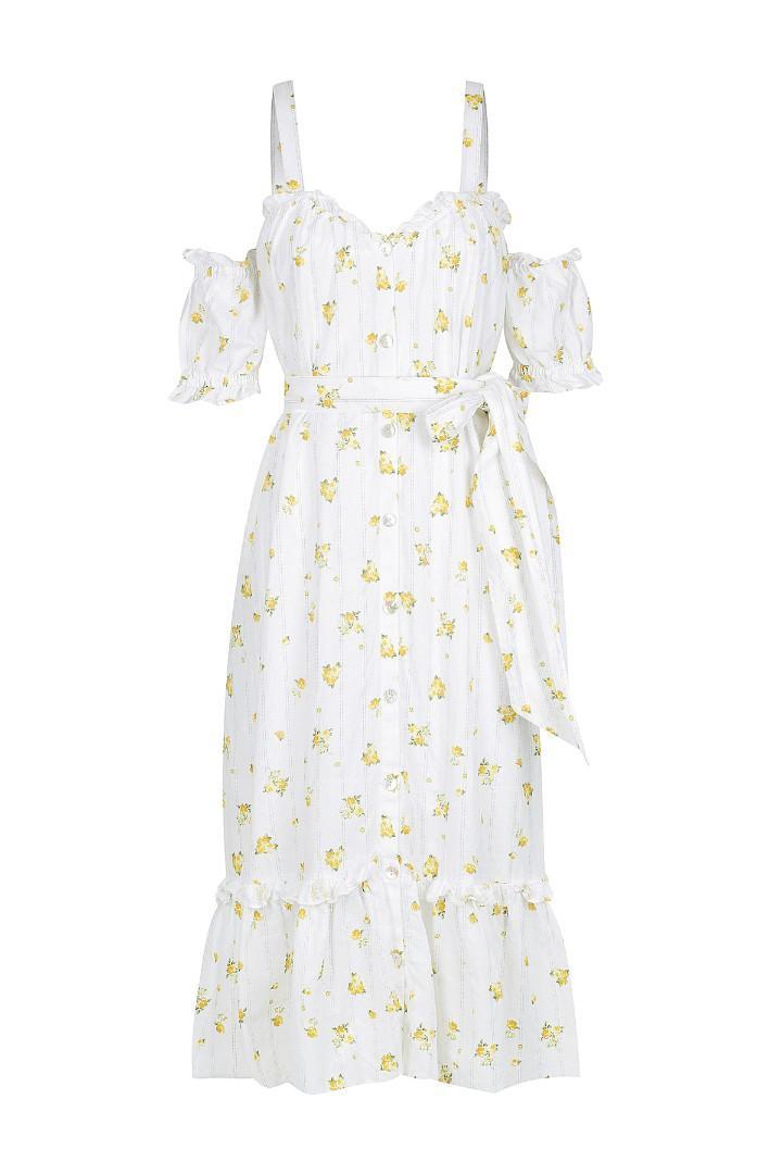 Hansen & Gretel Tara Linen Dress - Size M BNWOT RRP $330