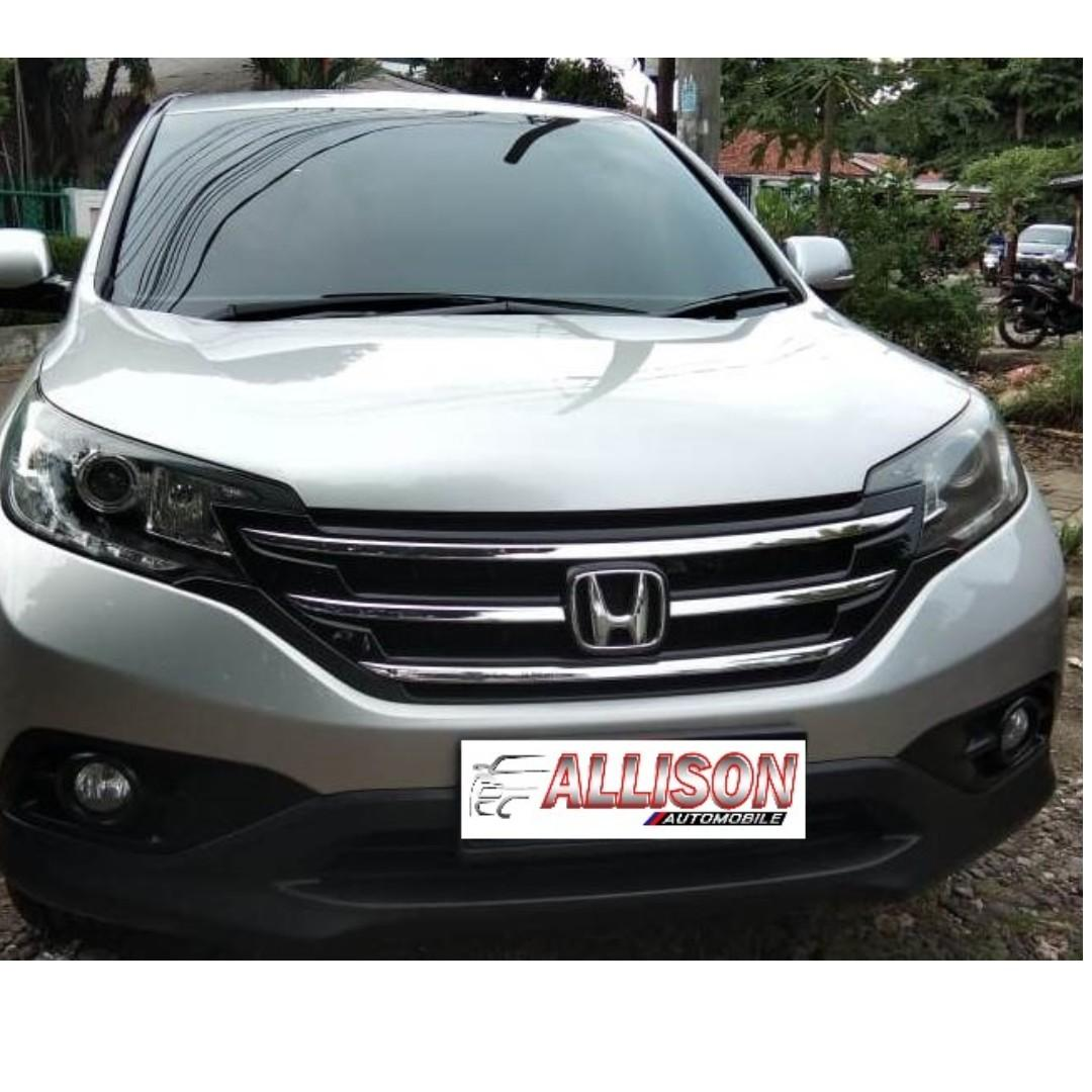 Honda CRv 2.4 At 2013 silver km 53 rb (service record)