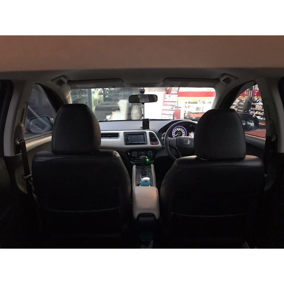 Honda HR-V S AT 2015 Black (Plat D 3 digit)