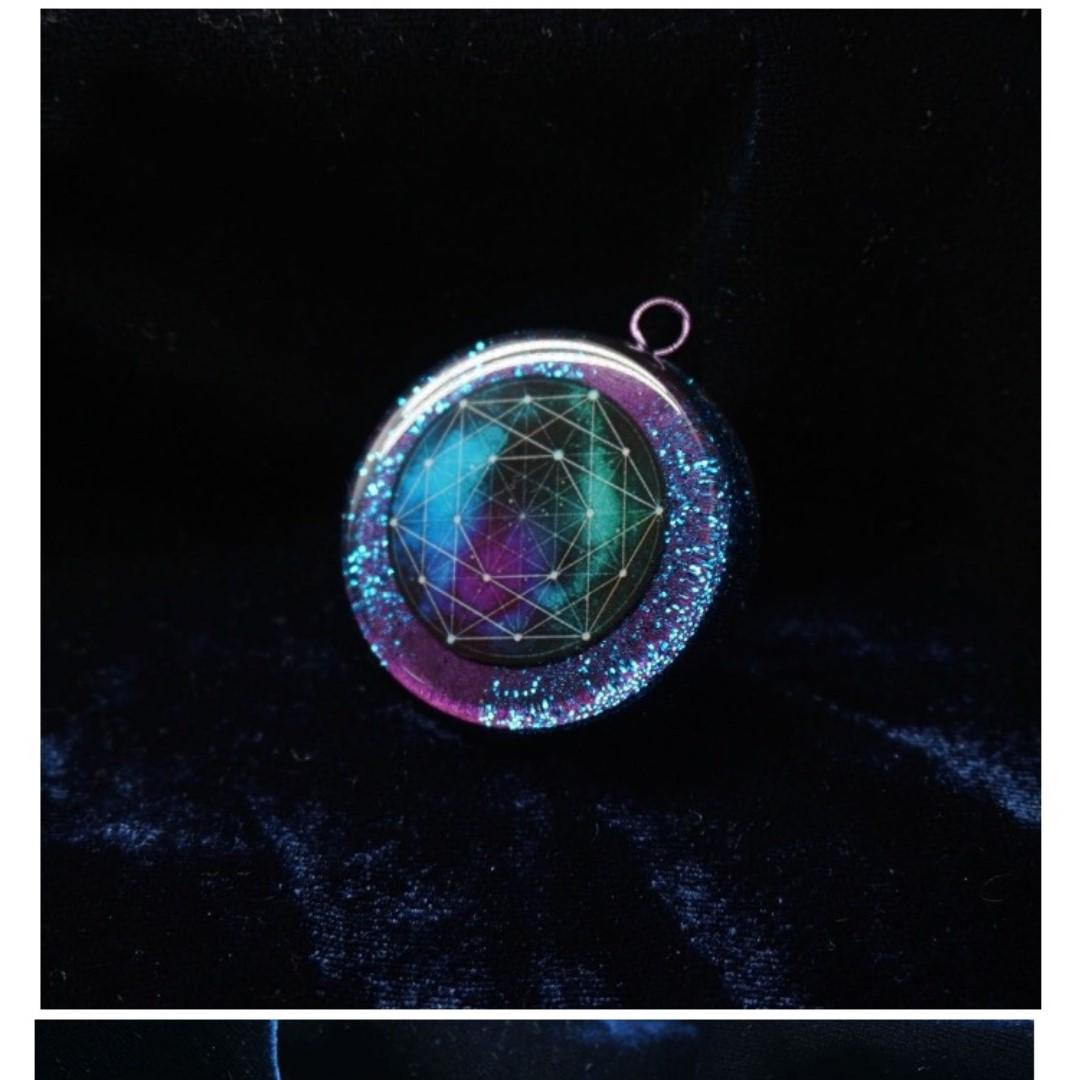 Imported Croatian handmade austenitic energy pendant high frequency energy converter orgone boost Energy