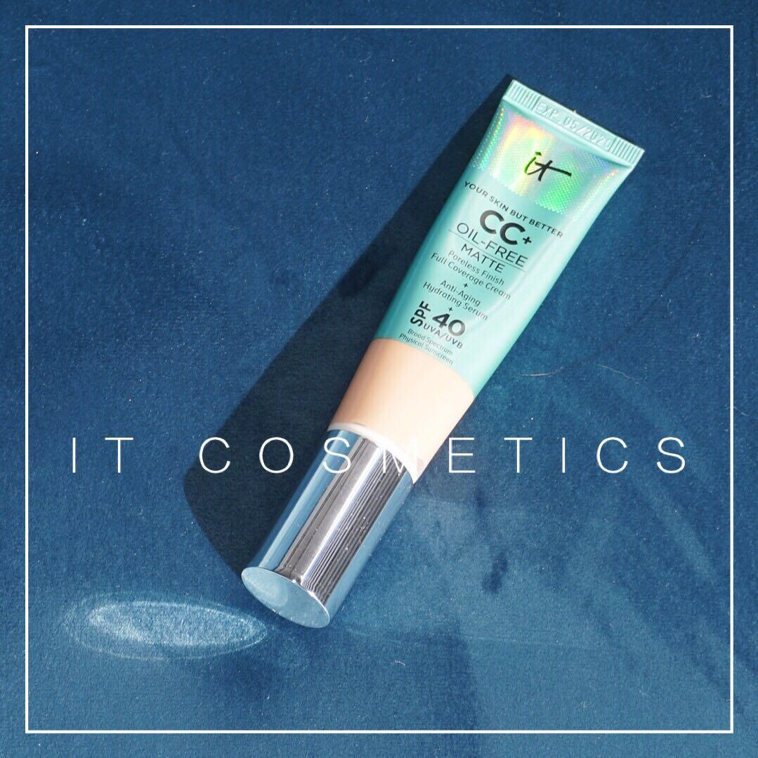 it cosmetics Your Skin But Better CC+ Oil-Free Matte Poreless Finish Full Coverage Cream with SPF 40