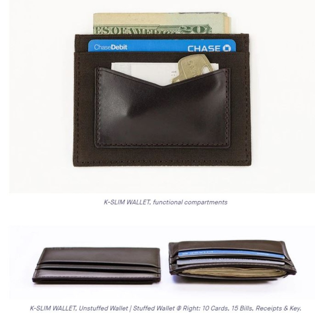 4659da7c K- Slim wallet Kickstarter BRAND NEW) $9, Luxury, Bags & Wallets ...