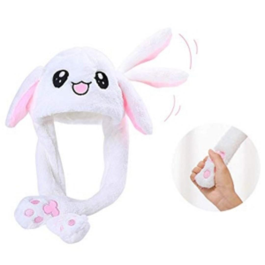 LATEST MAGIC RABBIT HAT WITH 3 SPEED LED LIGHT MOVABLE EAR FASHION HAT