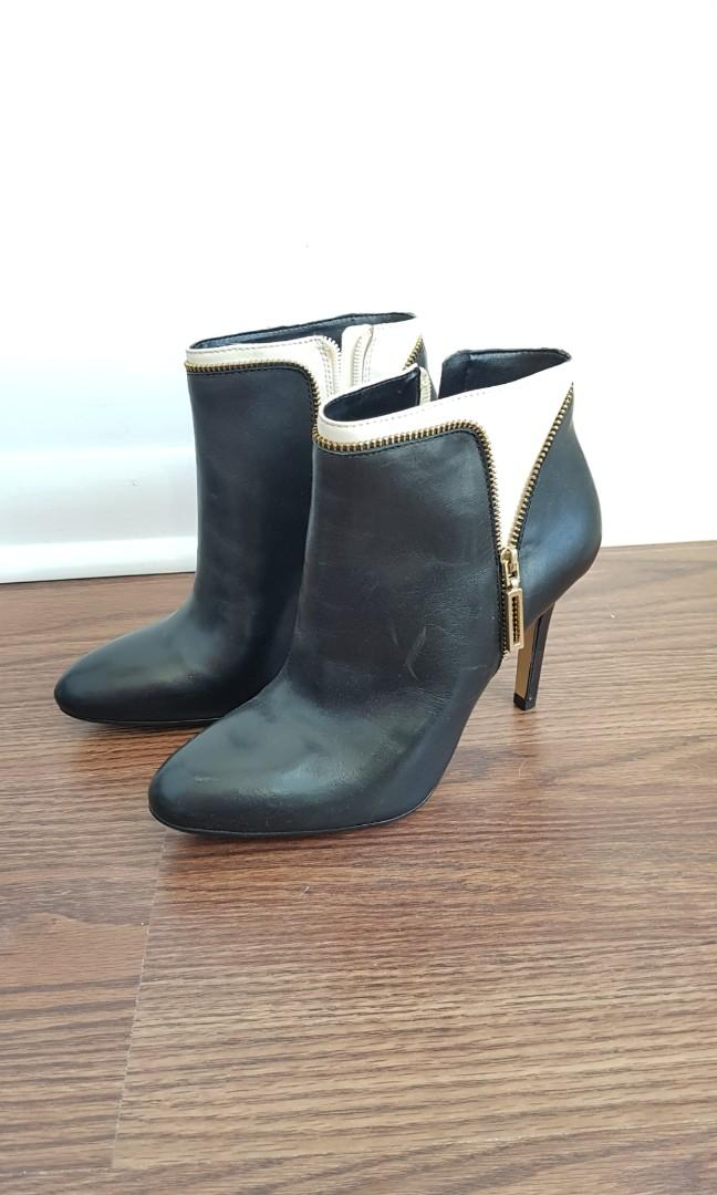 Leather ankle booties from Banana Republic, size 6