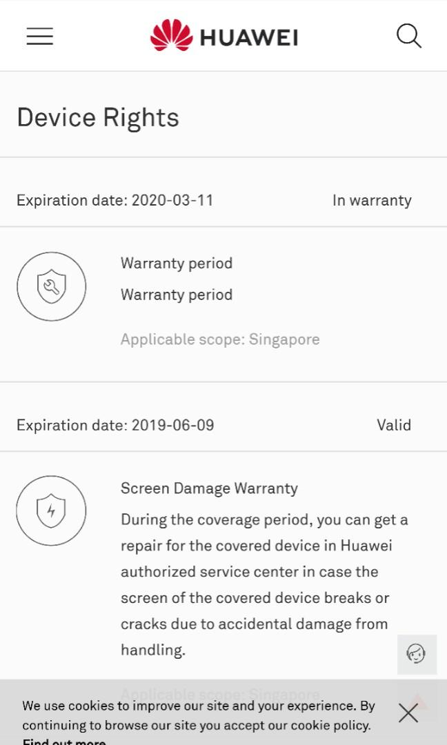 Less than 2 weeks old Huawei Mate 20 Pro for sale