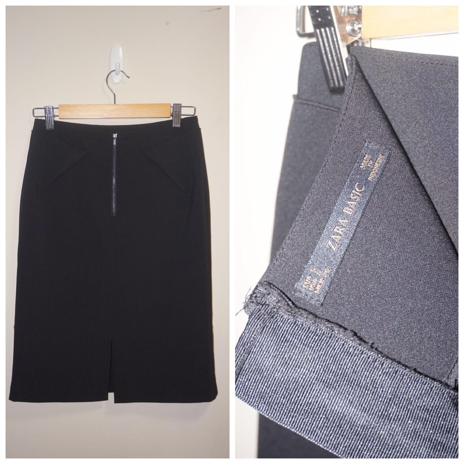 *Like New* Zara Pencil Skirt with Details Women Size S