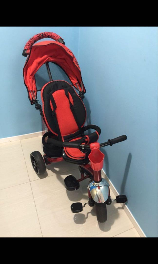 👶💰Little Tiger 3 in 1 Stroller & Tricycle
