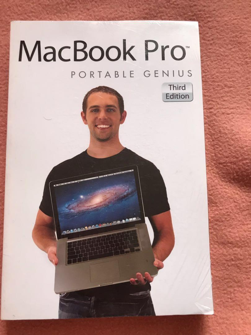 Macbook Pro Portable Genius Third Edition Book (Sealed)