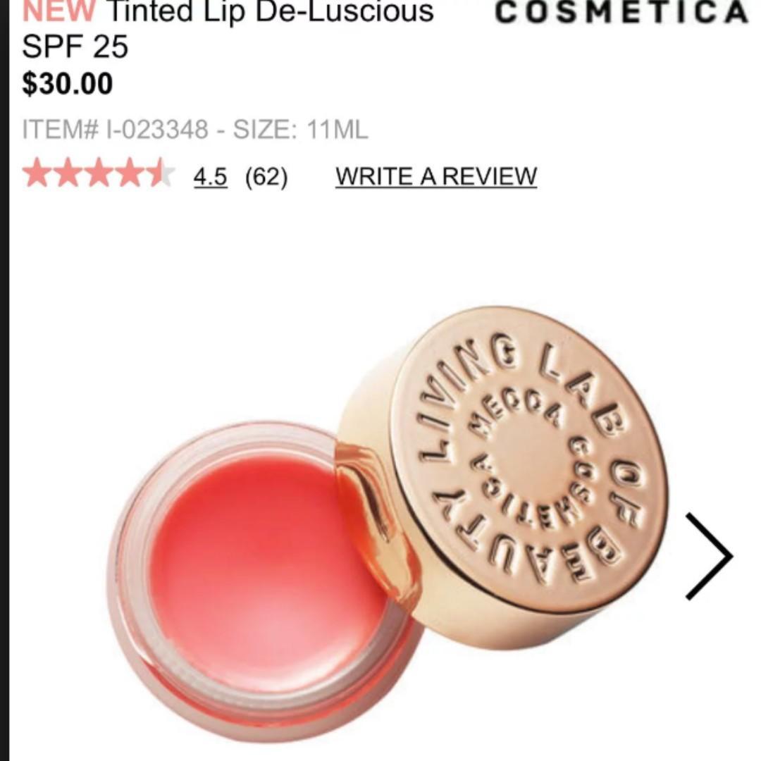 MECCA COSMETICA Tinted Lip De-Luscious with SPF 25