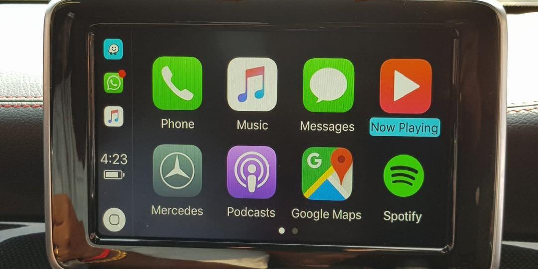 Mercedes A/B/CLA/GLA 2013-2015 NTG 4 5/4 7 Wireless Apple CarPlay Retrofit   Also Available for C-Class 2011-2016 W204/W205 NTG 4 5/5 0 and GLC-Class