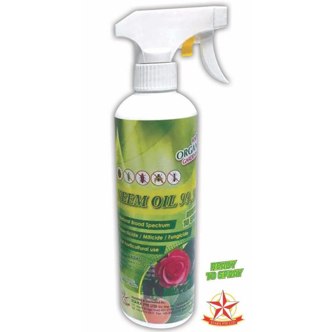 Neem Oil 99 9 - 500ml, Gardening, Plants on Carousell