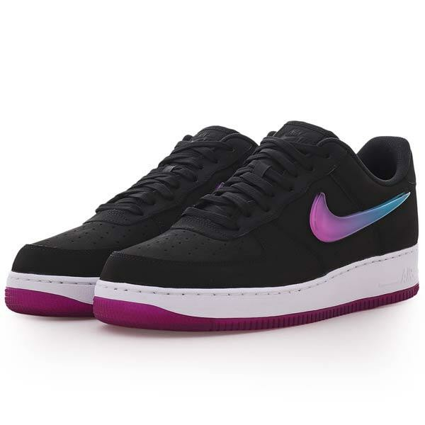 grossiste f0a0c e989f Nike Air Force 1'07 PRM 2 Noir/Lagon Bleu