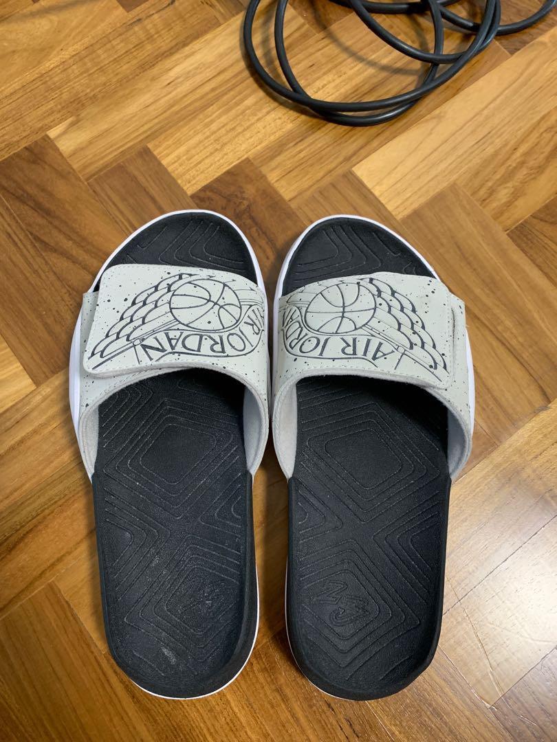best website fdc3a 26b65 Nike Air Jordan Slippers, Men's Fashion, Footwear, Slippers ...