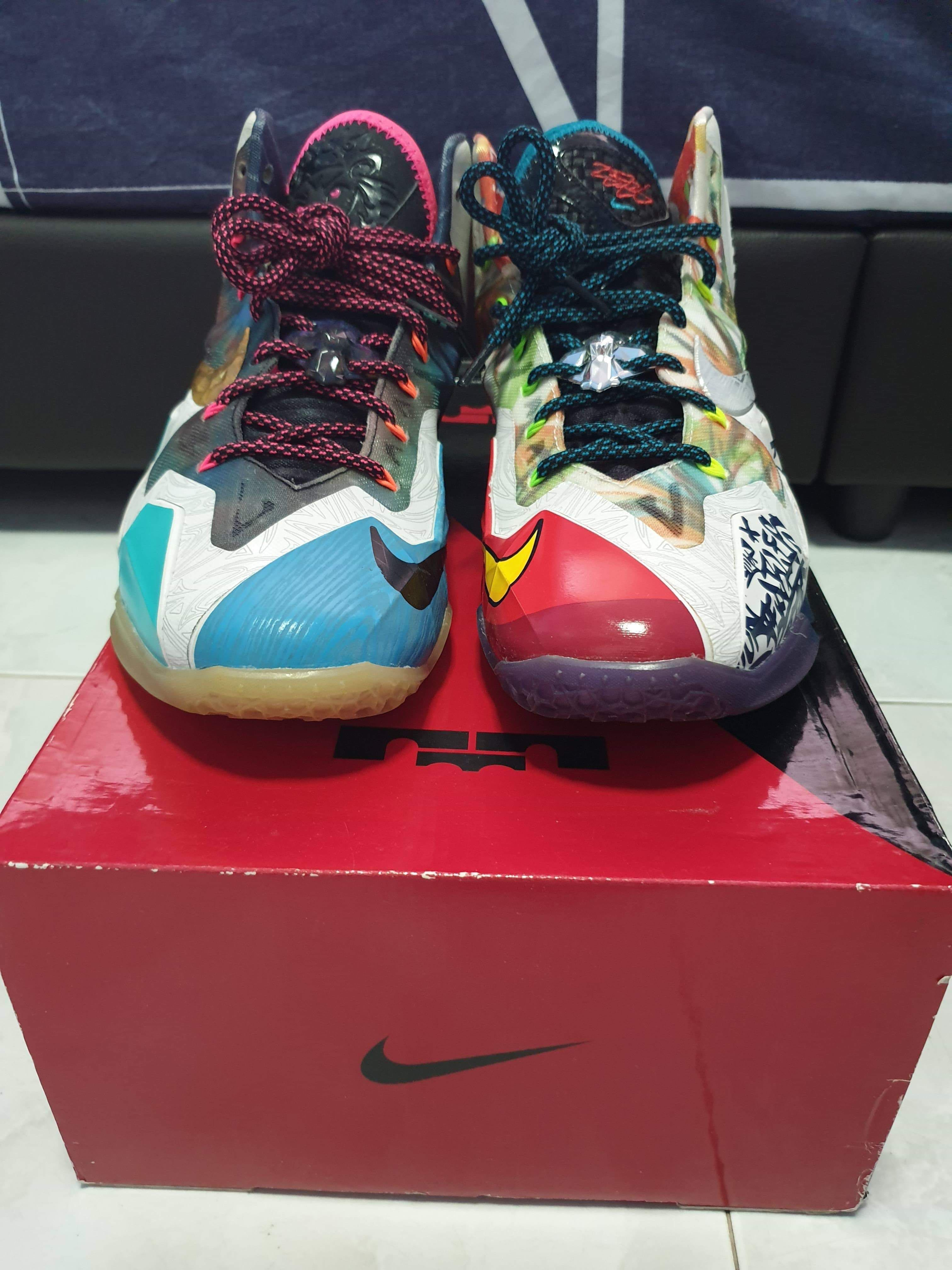 new style 0420e ff69c Nike Lebron XI What The Lebron, Men s Fashion, Footwear, Sneakers on ...