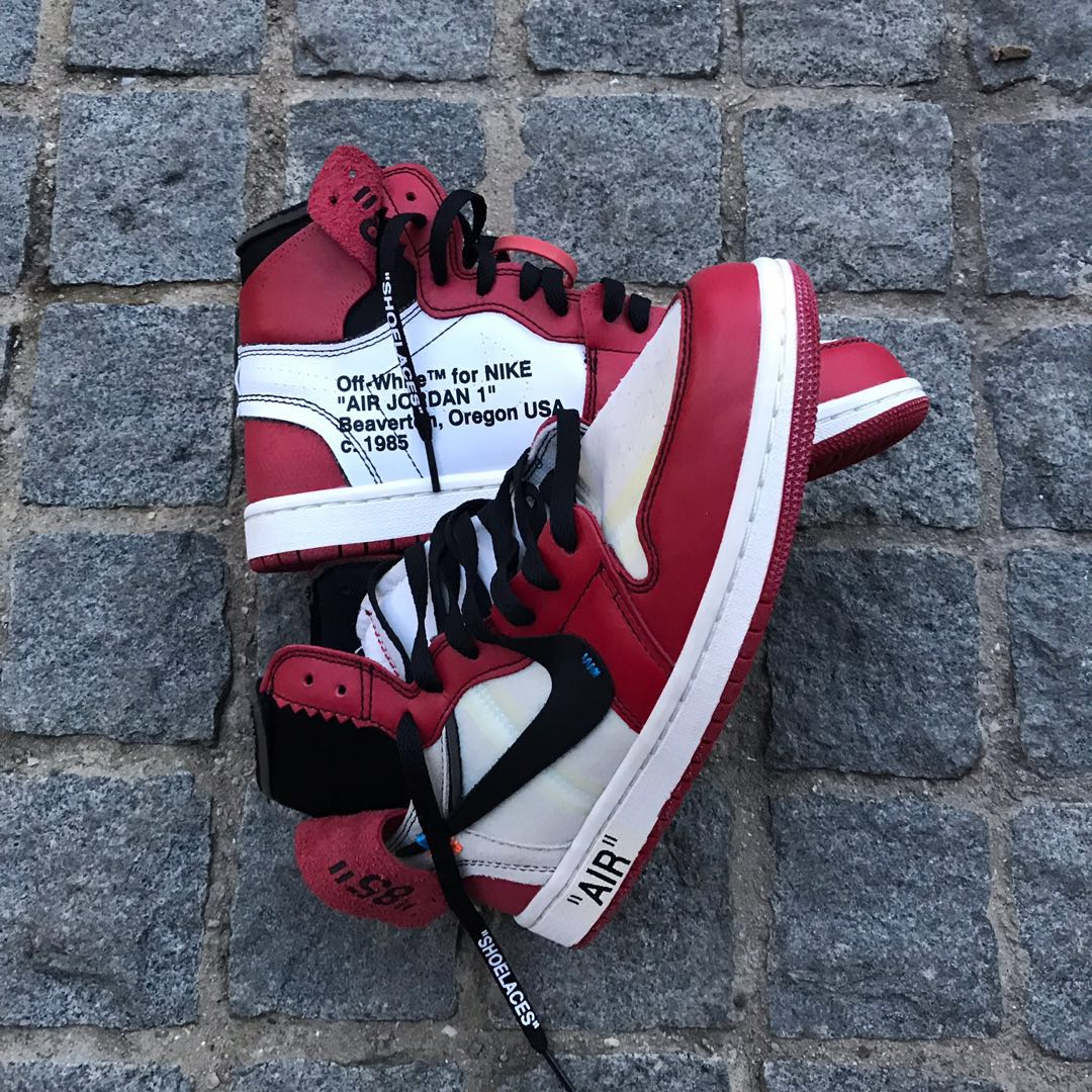 5b3a484d53f Nike off white air Jordan 1, Men's Fashion, Footwear, Sneakers on ...