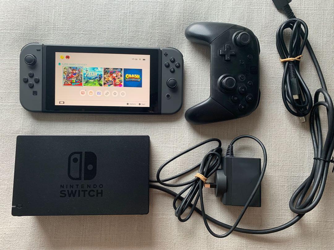 Nintendo Switch Bundle & Games (worth $1k!)