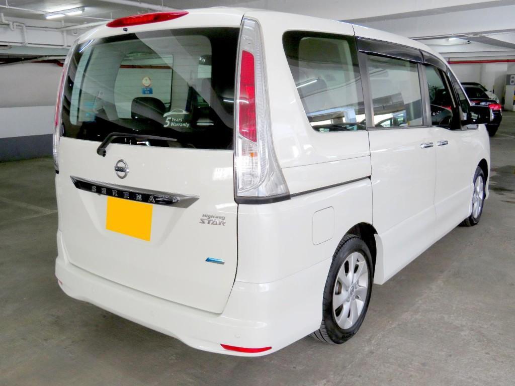 Nissan SERENA GREEN HWS 2.0L