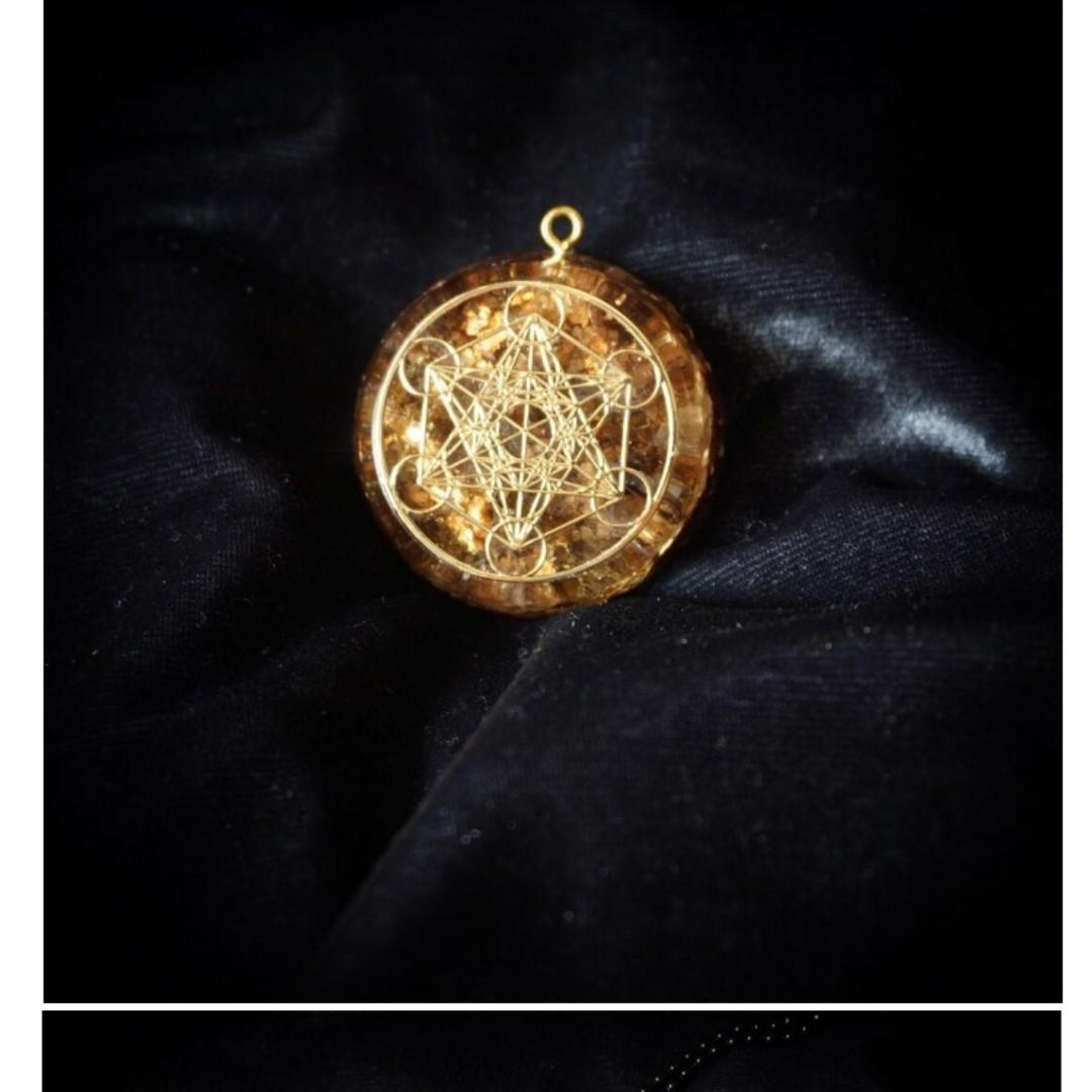 O Gang energy pendant orgonite Energy Converter Metatron Cube submarine Wheel