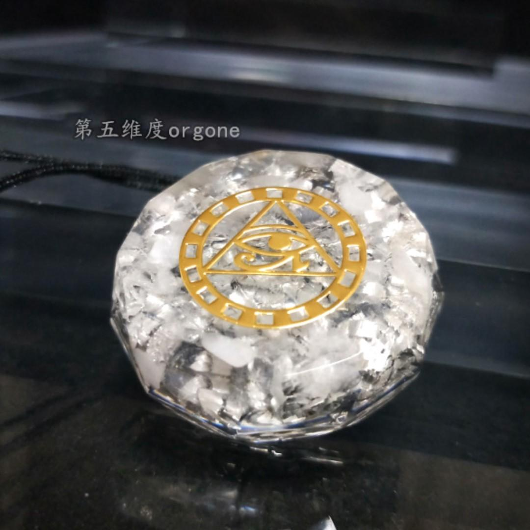 orgone crystal Energy healing necklace men and women recruit financial assistance business health potential popular body escort Pendant