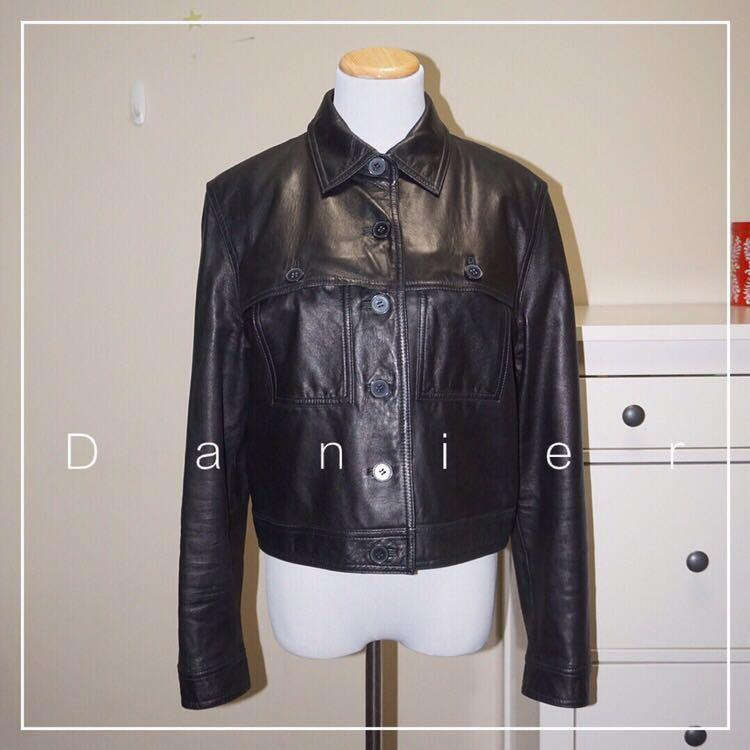 *Perfect Condition* Danier Genuine Leather Jacket Women Size 6-8