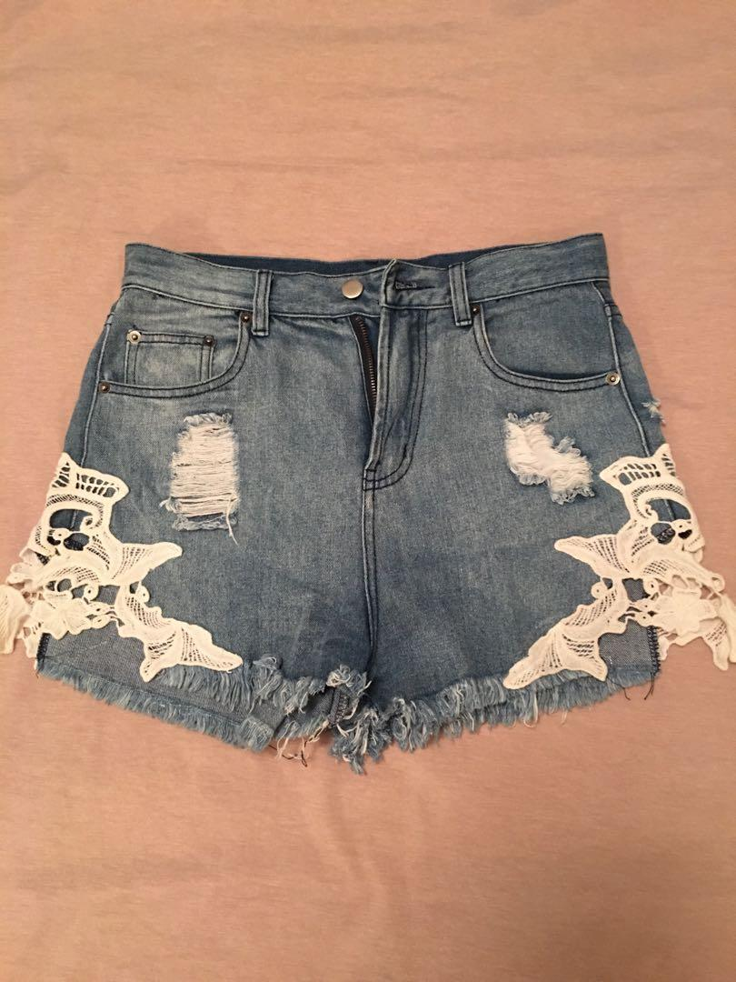 Pop Cherry Lace Shorts