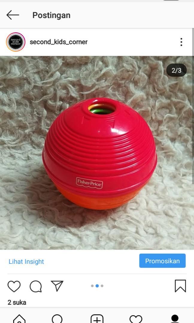 Preloved stucking ball