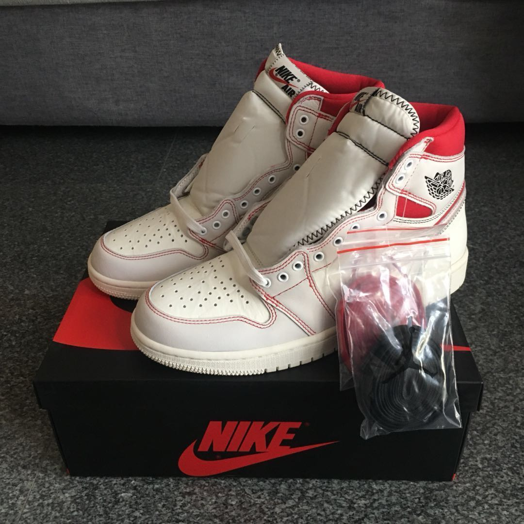 premium selection 1935c dc009  PRICE REDUCED  Air Jordan 1 Phantom US9   US9.5, Men s Fashion, Footwear,  Sneakers on Carousell
