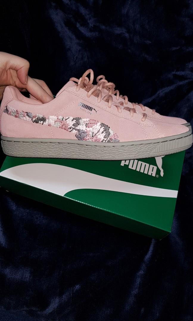 meet 48820 81b45 Puma suede sunfade sneaker