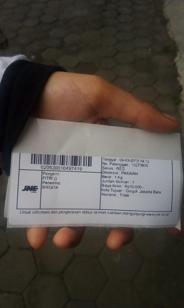 Resi pengiriman