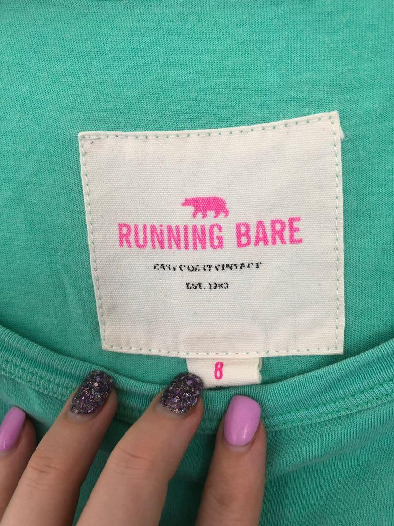 Running Bare Tee size 8