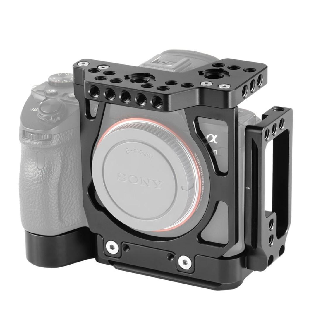 SmallRig Half Cage with Arca L-Bracket for Sony A7III A7RIII 2236
