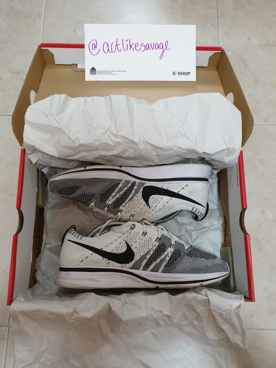 cb180606762f STEAL!  US9.5 9 10 Nike Flyknit Trainer OG  Yeknit