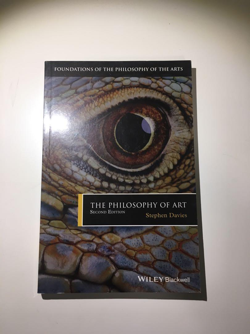 The Philosophy of Art (2nd edition) by Stephen Davies