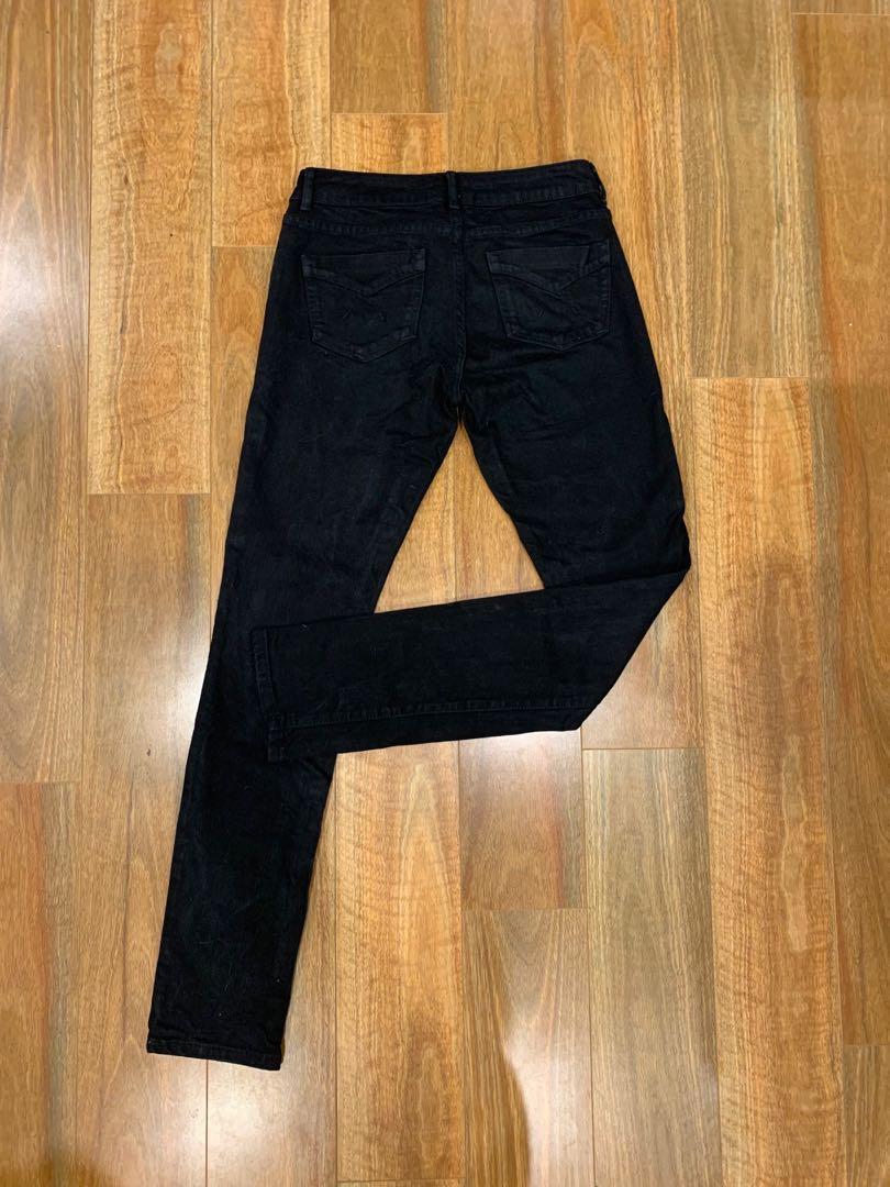 Topshop Black Skinny Jean's
