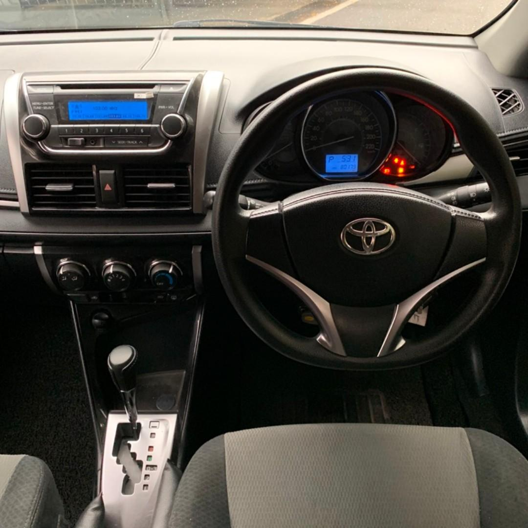 TOYOTA VIOS 1.5 E A/T FULL BODYKIT ON THE ROAD PRICE
