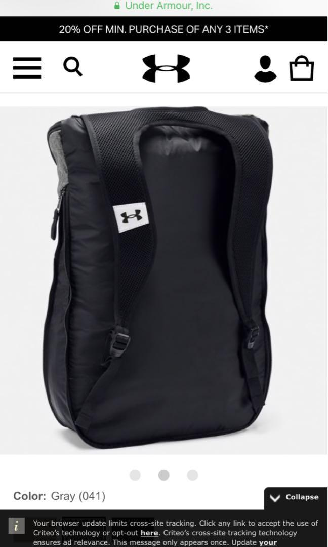 Under Armour Storm Expandable backpack