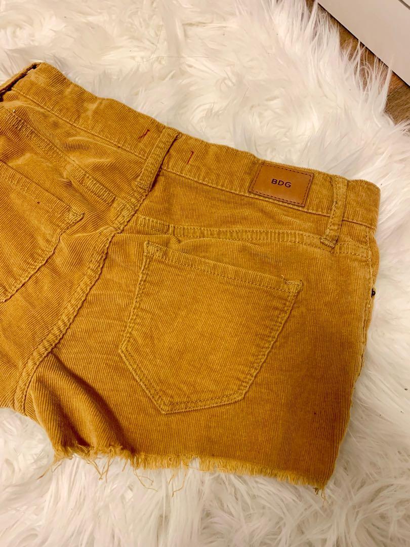 UO Corduroy Shorts