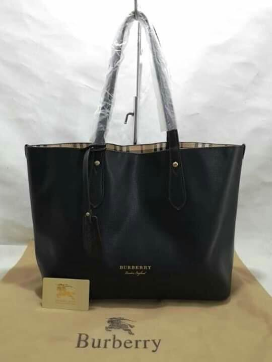 77d2d313f61 w/Pouch CLEARANCE SALE Plain Burberry Tote Bag Burberry Shopping Bag  Burberry Neverfull Bag Burberry Bag Burberry Big Bag on Carousell