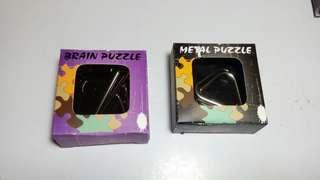 魯班鎖 brain puzzle metal puzzle
