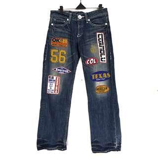 Vintage Co&Lu Biker Jeans Longpants