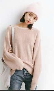 Oversized Knitted Sweater/pullover
