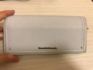 samantha leather wallet (100%real)