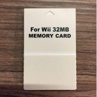 Wii 32MB 記憶卡 Memory Card for Gamecube Game