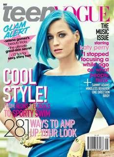 Teen Vogue magazine Katy Perry